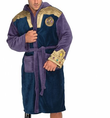 Thanos Infinity Gauntlet Marvel Dressing Gown