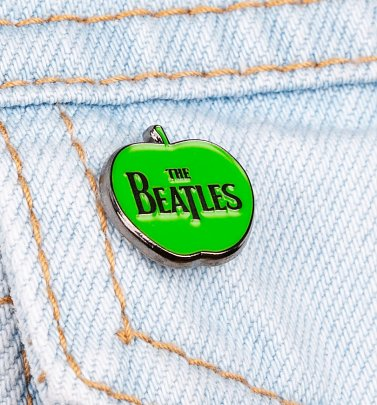 The Beatles Logo Apple Enamel Pin Badge