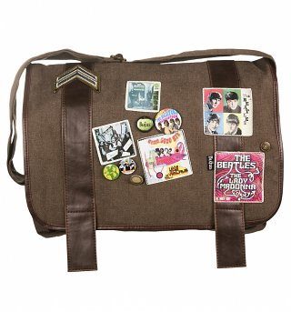 The Beatles Military Satchel Bag from Disaster Designs