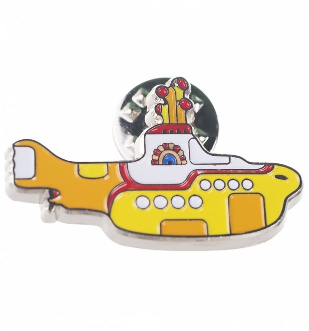 The Beatles Yellow Submarine Enamel Pin Badge