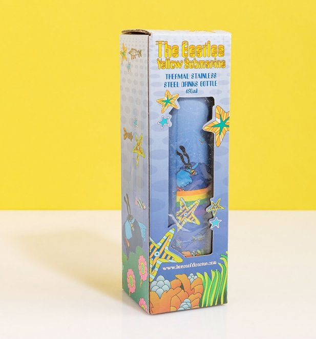 The Beatles Yellow Submarine Thermal Flask