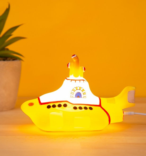 The Beatles Yellow Submarine LED Lamp from Disaster Designs