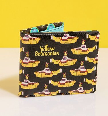 The Beatles Yellow Submarine Wallet from Disaster Design