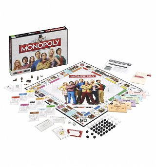 The Big Bang Theory Monopoly Game Set