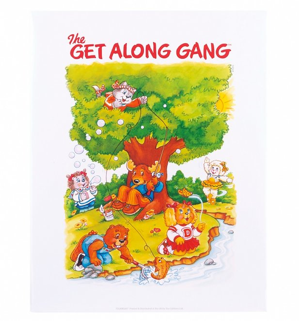 The Get Along Gang Art Print