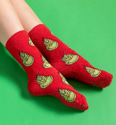 The Grinch Cosy Socks