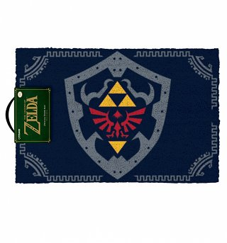 The Legend Of Zelda Hylian Shield Door Mat