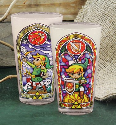 """Legend of Zelda"" Link Glas - Zelda"