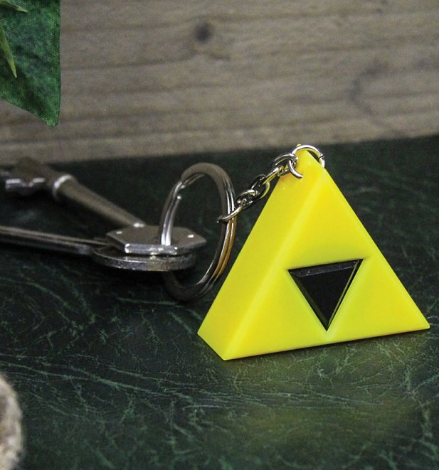 The Legend Of Zelda Triforce Keyring Light