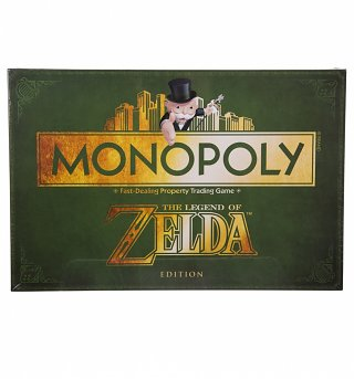 The Legend of Zelda Collector's Edition Monopoly Game Set