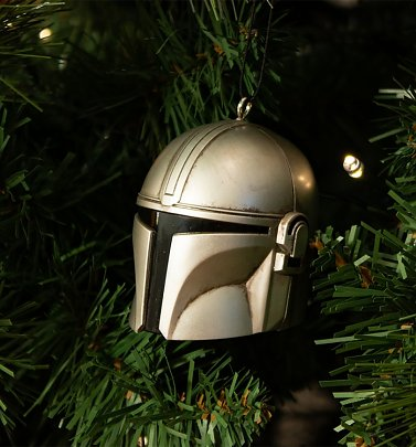 The Mandalorian Helmet 3D Hanging Decoration from Numskull