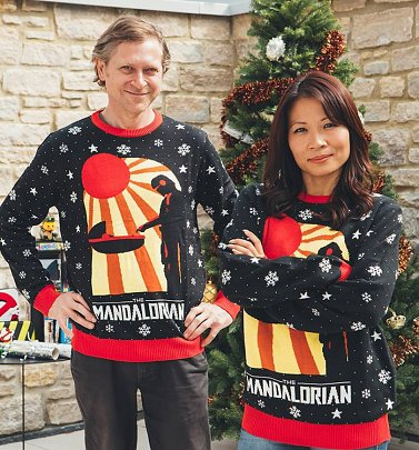 The Mandalorian Knitted Christmas Jumper