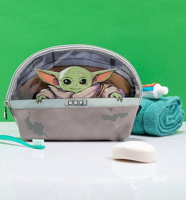 The Mandalorian The Child Wash Bag