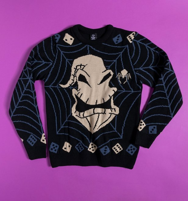 The Nightmare Before Christmas Oogie Boogie Knitted Jumper
