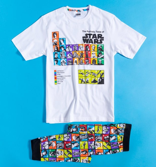 Men's The Periodic Table Of Star Wars Pyjamas
