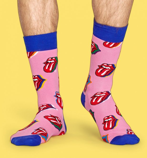 The Rolling Stones Candy Kiss Socks from Happy Socks