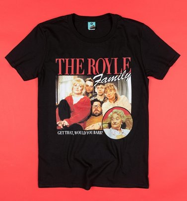 The Royle Family Black T-Shirt