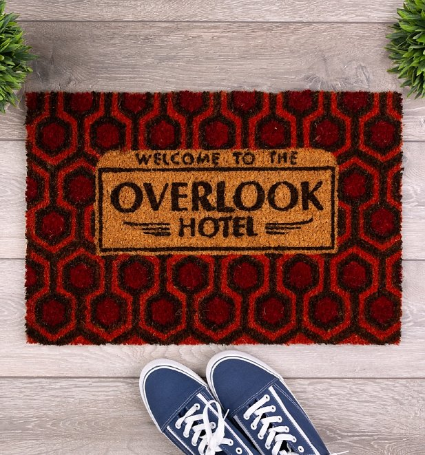 The Shining Overlook Hotel Door Mat