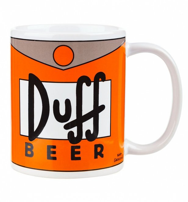 Duff Beer The Simpsons Mug