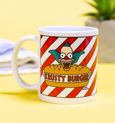 The Simpsons Krusty Burger Mug