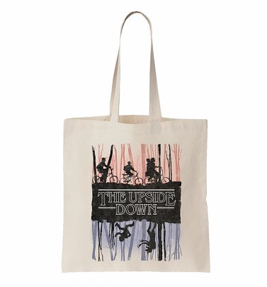 The Upside Down Stranger Things Inspired Tote Bag