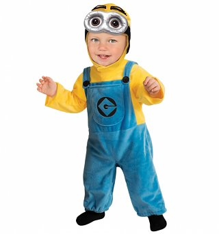 Toddler Minion Fancy Dress Costume