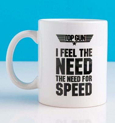 Top Gun Feel The Need For Speed Mug
