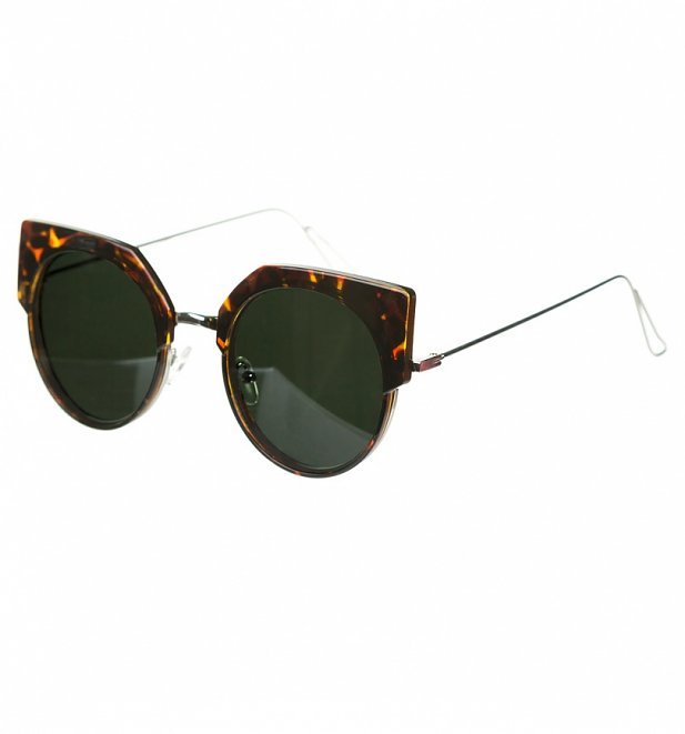 Tortoiseshell Round Lens Sunglasses from Jeepers Peepers