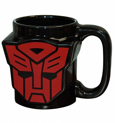 Transformers Autobot Shield Shaped Mug