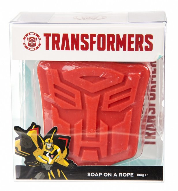 Transformers Shield Soap on A Rope