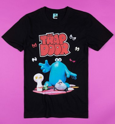 Trap Door Black T-Shirt