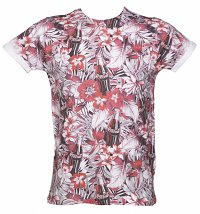 Tropical Coca-Cola All Over Sublimation Print T-Shirt from Retro Fred's