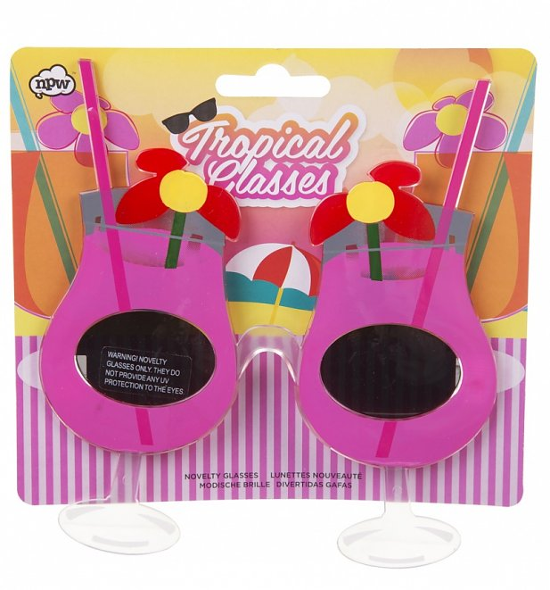 Tropical Cocktail Sunglasses