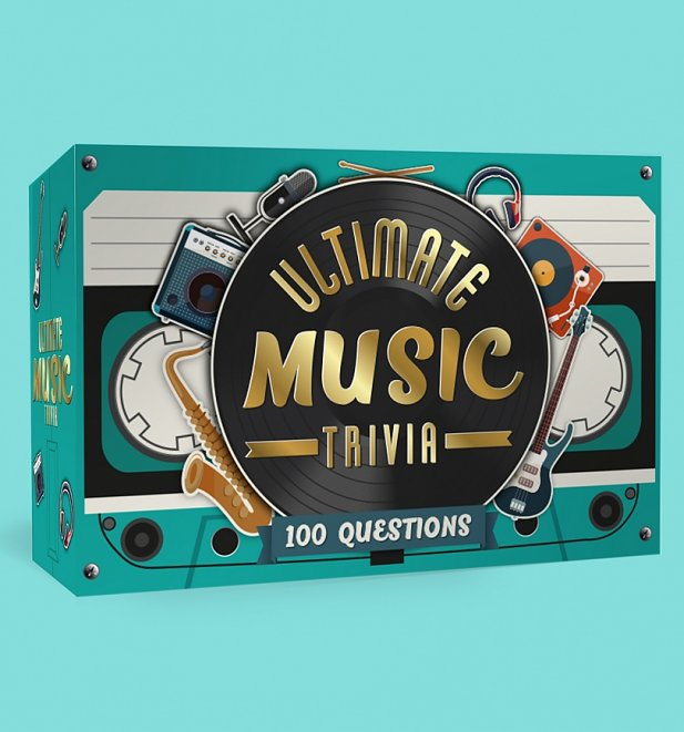 Ultimate Music Trivia Cards