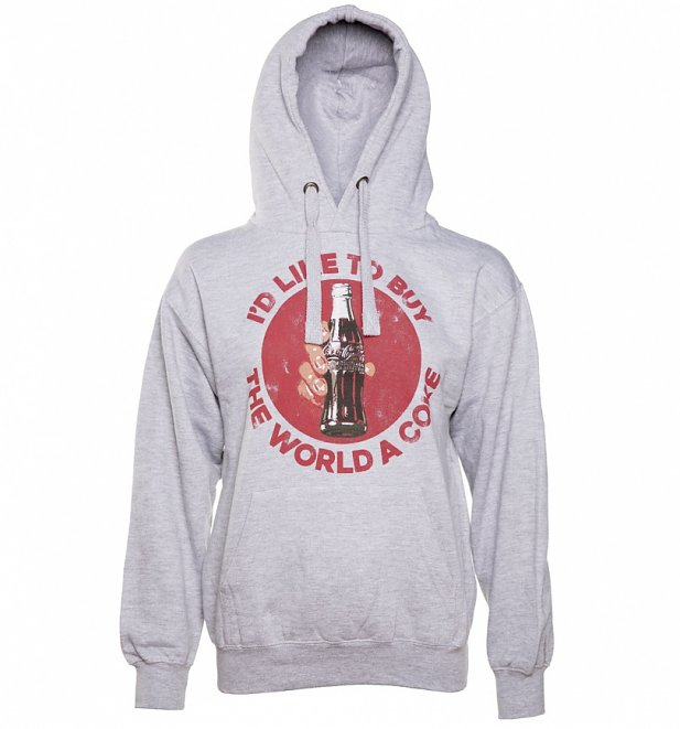 I'd Like To Buy The World a Coke Hoodie