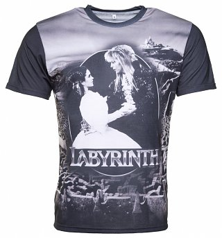 Labyrinth Sarah And Jareth Maze T-Shirt