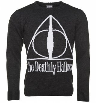The Deathly Hallows Knitted Harry Potter Jumper