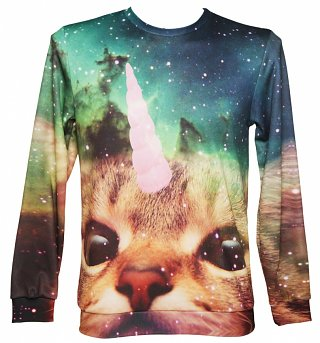 Unisex Unicorn Cat Sweater from Mr Gugu & Miss Go