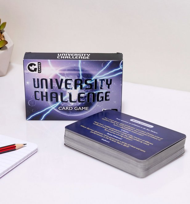 University Challenge Card Game