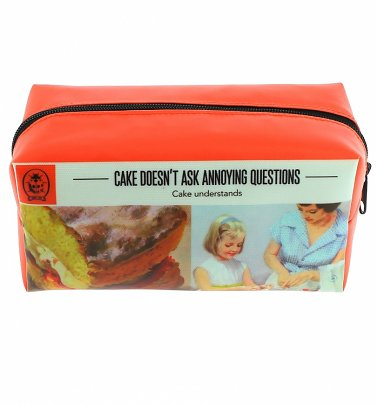 Vintage Ladybird Annoying Questions Large Pencil Case