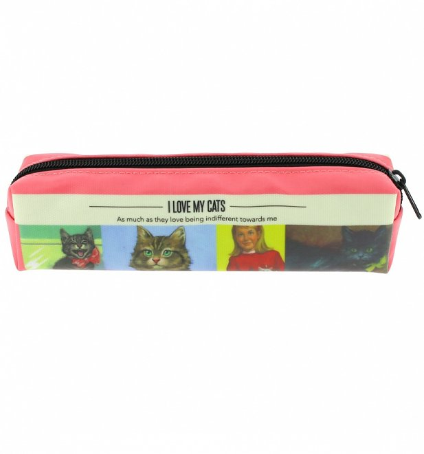 Vintage Ladybird Small Pencil Case