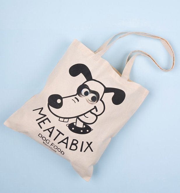 Wallace And Gromit Meatabix Dog Food Tote Bag