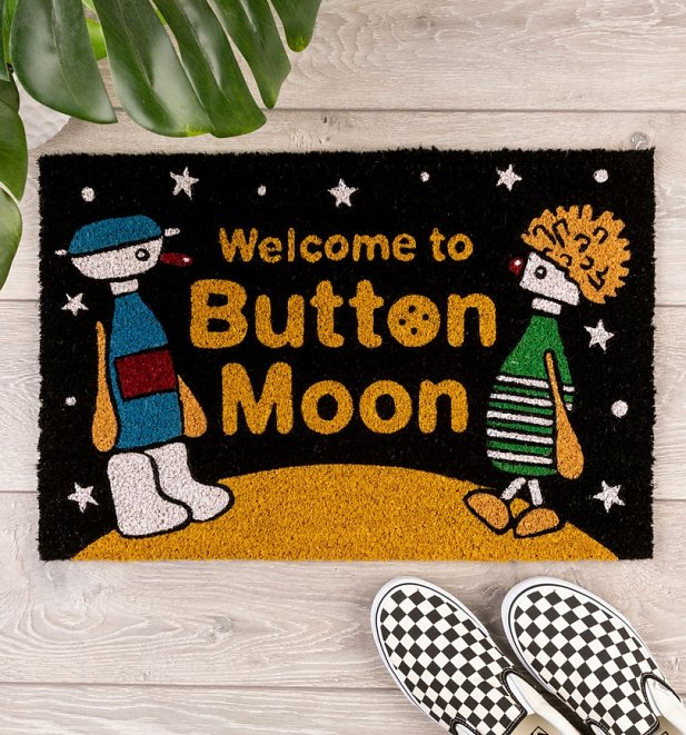 Welcome To Button Moon Door Mat