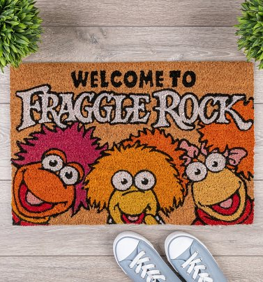 Welcome To Fraggle Rock Door Mat