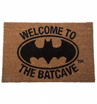 Welcome To The Batcave Batman Door Mat