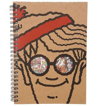 Where's Wally A5 Notebook