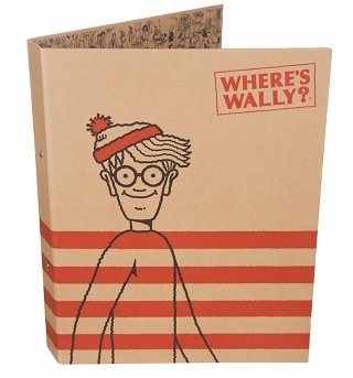 Where's Wally Ring Binder