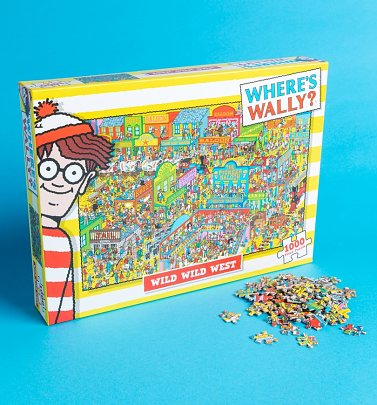 Where's Wally Wild West 1000 Piece Jigsaw Puzzle