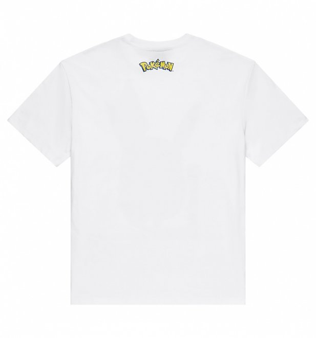 f5c65d86 White Pokemon Pikachu T-Shirt from Criminal Damage