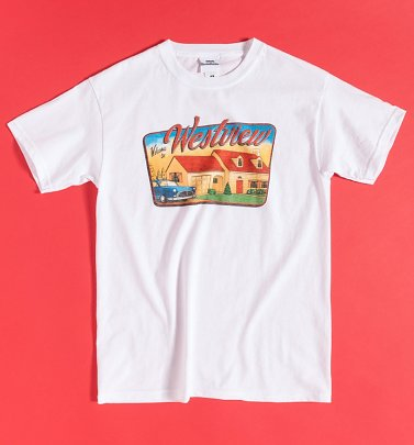 White Welcome To Westview WandaVision T-Shirt